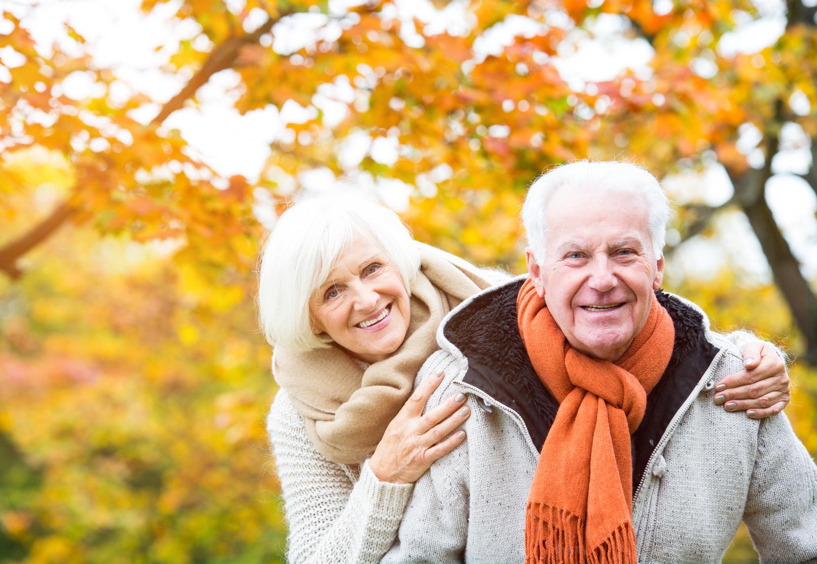 Zdrowie i odporność seniora jesienią i zimą
